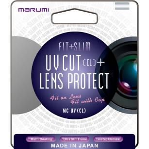Marumi filtr FIT+SLIM MC UV (CL) 62mm