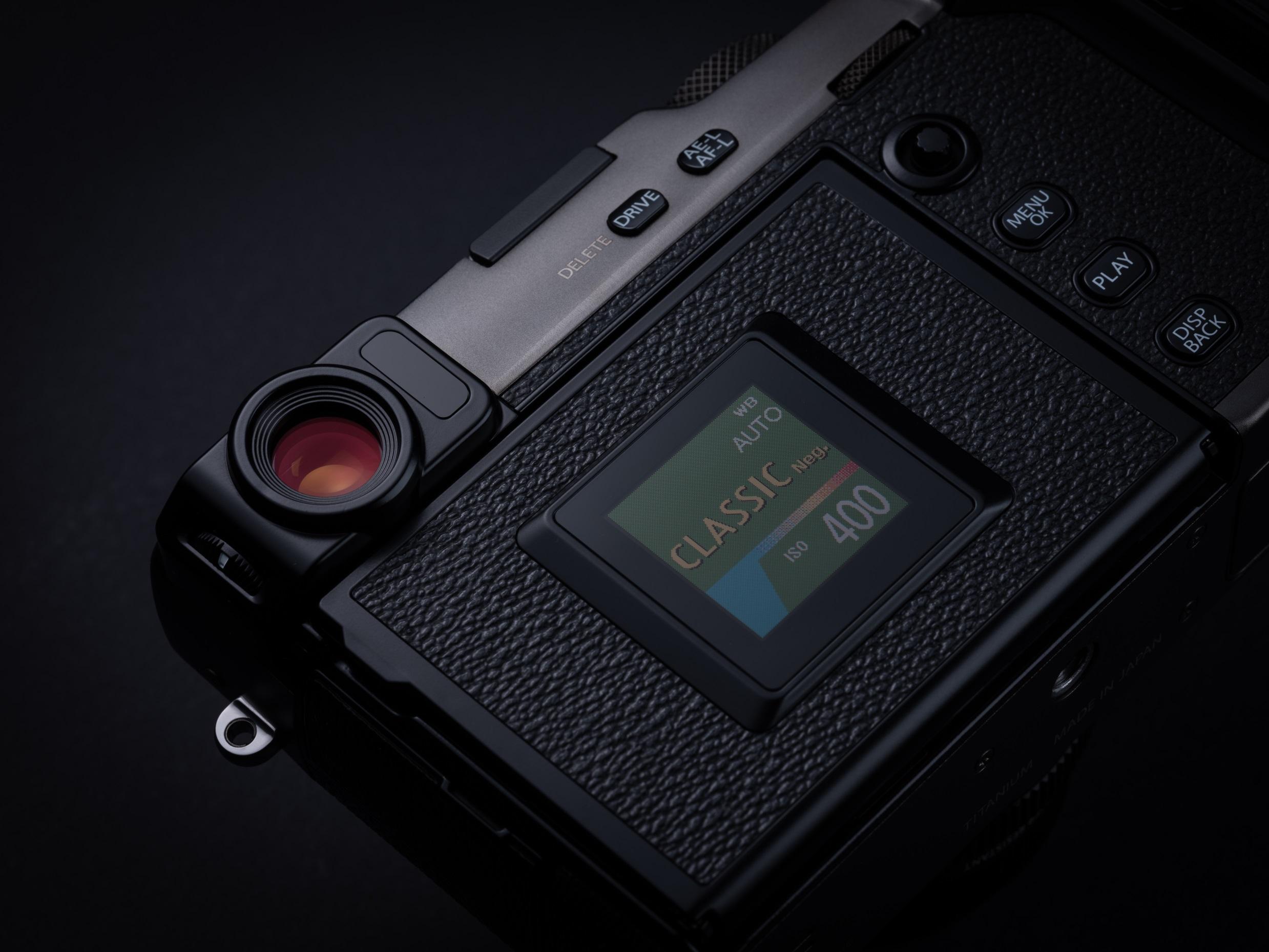 Fujifilm X-pro3 wyświetlacz