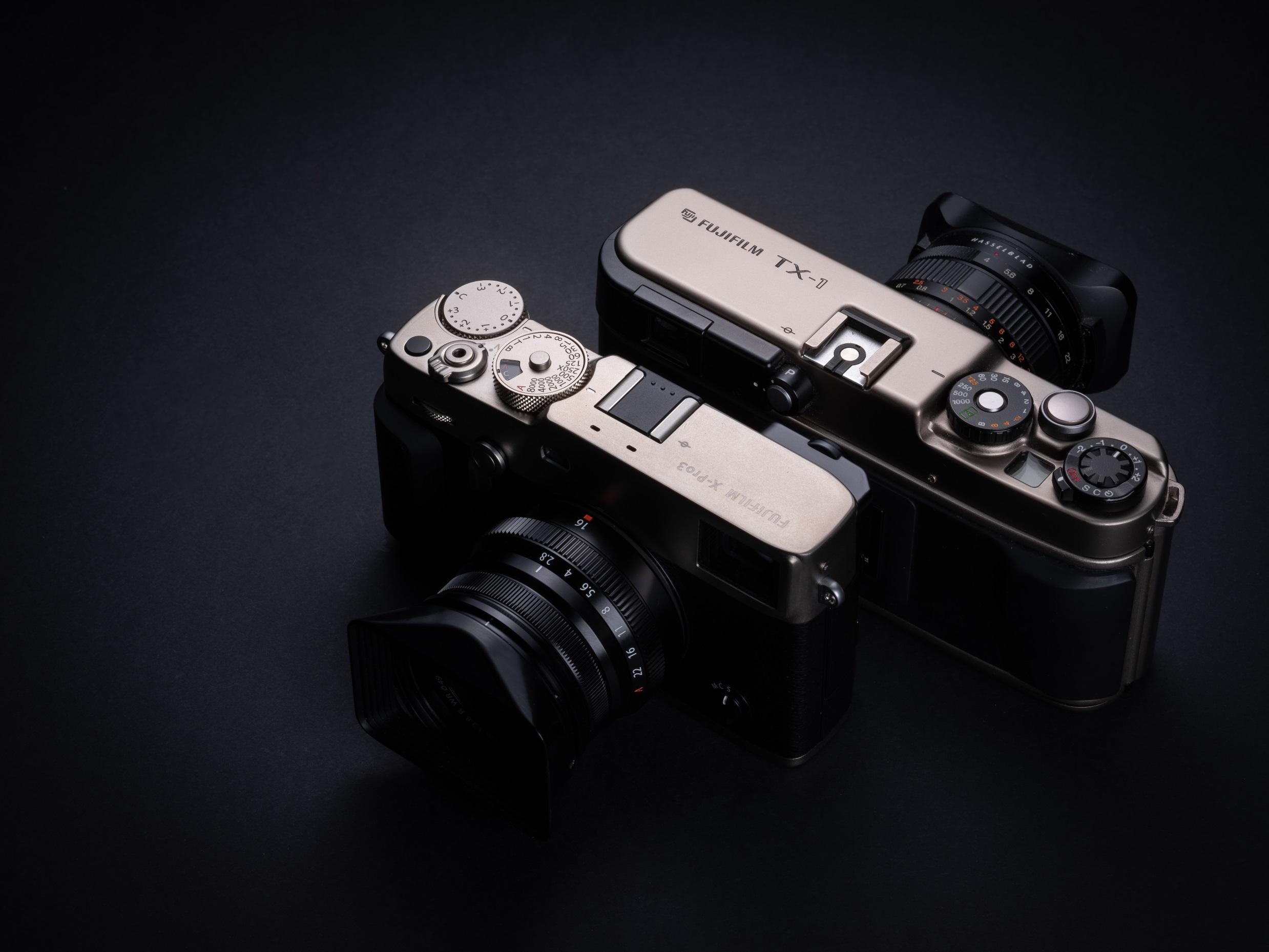 Fujifilm X-pro3 porównanie