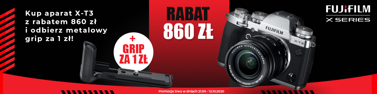 promocja Fujifilm X-T3